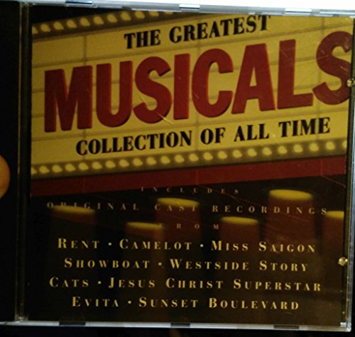 Sunset Boulevard Collection - The Greatest Musical Collection of All Time - Rent, Camelot, Miss Saigon, Showboat, Westside Story, Cats, Jesus Christ Superstar, Evita, Sunset Boulevard and More!!!