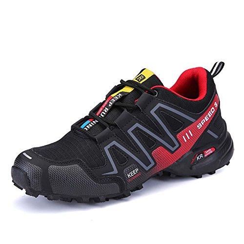 De Hommes Randonne Noir Sports Lger Chaussures Air Plein Mengxx vFUqpw