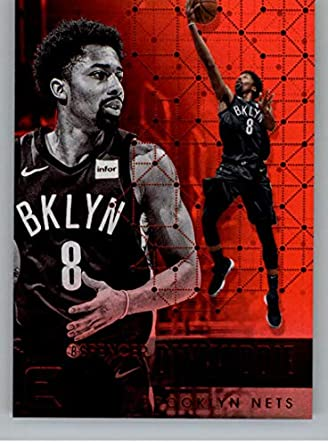 fe42a2a70d995 2017-18 Panini Essentials Red Basketball Card  146 Spencer Dinwiddie Brooklyn  Nets Official NBA