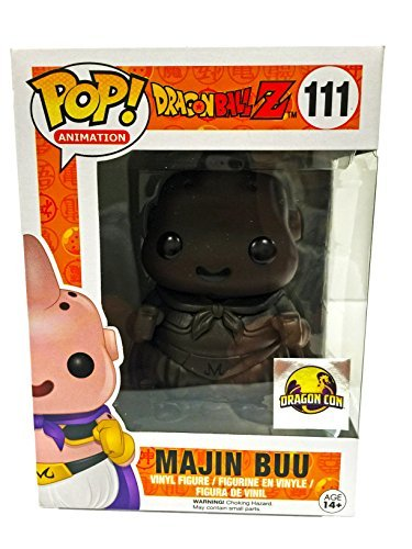 Dragon Ball Buu (Dragonball Z Chocolate Majin Buu Dragon Con Vinyl Figure with Sticker)
