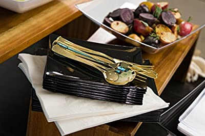 Plastic Cutlery Gold VV