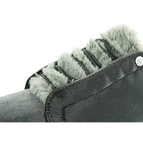 cce985a6ce5 BEPPI 2158780 - Zapatillas de Terciopelo para mujer Gris gris 80% OFF
