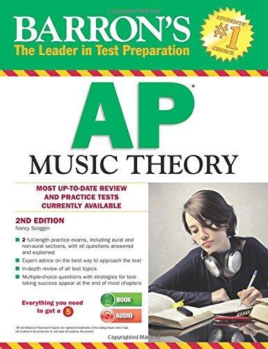 Ap Music Theory (Barron's Ap Music Theory) by Nancy Scoggin (2014-03-17)