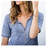 Boosic Multi-layer Pendant Chain Long Layered Necklace Jewelry For Women