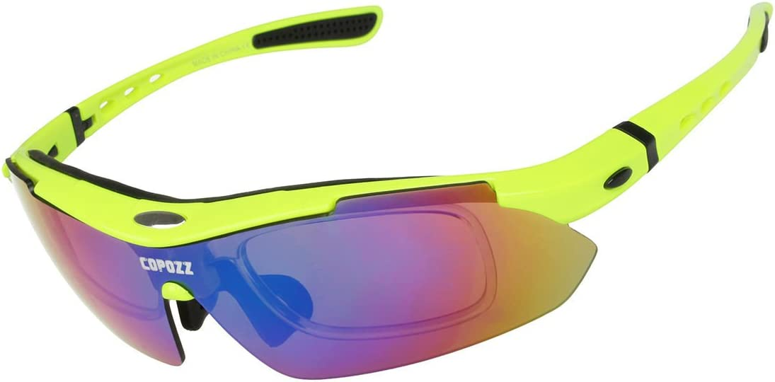 ROCKBROS Cycling Photochromatic Glasses Outdoor Sports Sunglasses Goggles Green