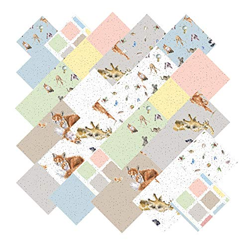 Hannah Dale Love is… Charm Pack 42 5-inch Squares Maywood Studio - Nursery Squares