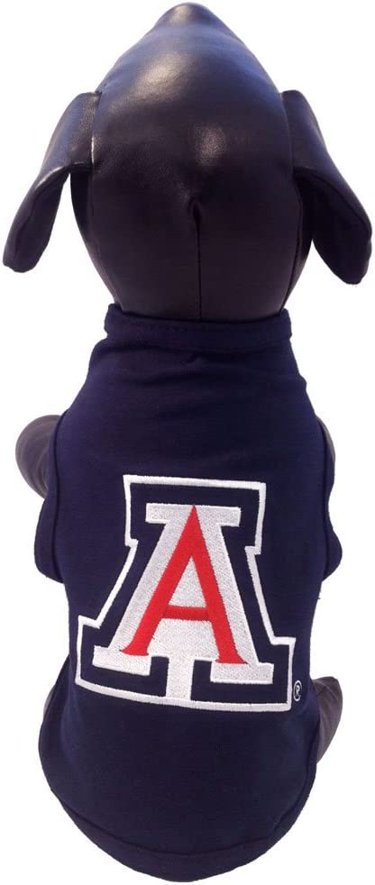 NCAA Arizona Wildcats Cotton Lycra Dog Tank Top Large