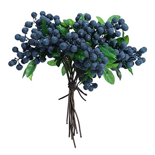 Leegoal Artificial Flowers Blueberry Ornament