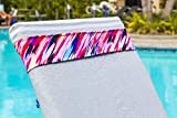 BandaBeau Towel Holders: Keep Beach Chair Towel Holders secured to Outdoor Lounge Chairs at Beach Resorts, Pools and on Cruise Ships. Beach Chair Towel Clips that are Windproof & Travel-Friendly