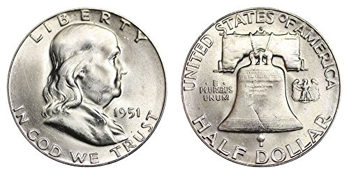 1951 S Franklin Half Dollar $.50 Brilliant Uncirculated ()