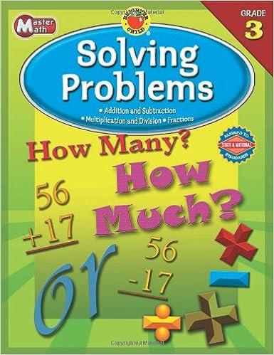 Download online Master Math, Grade 3: Solving Problems (Brighter Child Workbooks) PDF, azw (Kindle), ePub
