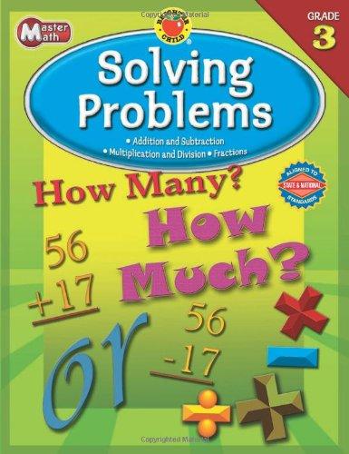 Download Brighter Child® Master Math: Solving Problems, Grade 3 (Brighter Child Workbooks) pdf epub
