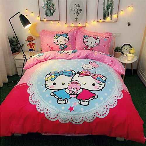 cutest Hello Kitty duvet cover sets