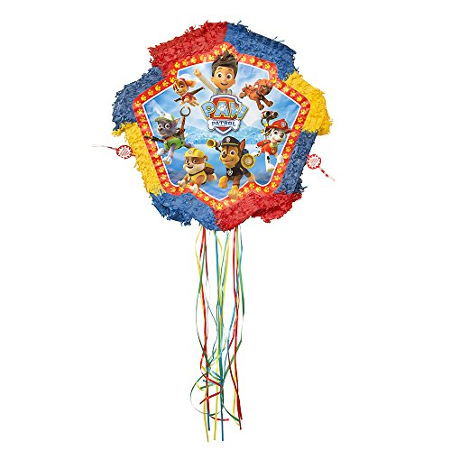 Pinata Kids For Costume (PAW Patrol Pinata, Pull)