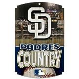 MLB San Diego Padres Wood Signs