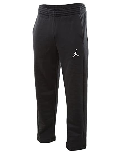 57cd3523208 Amazon.com: Jordan Air Jordan Flight Fleece Pant (S, Black/White ...