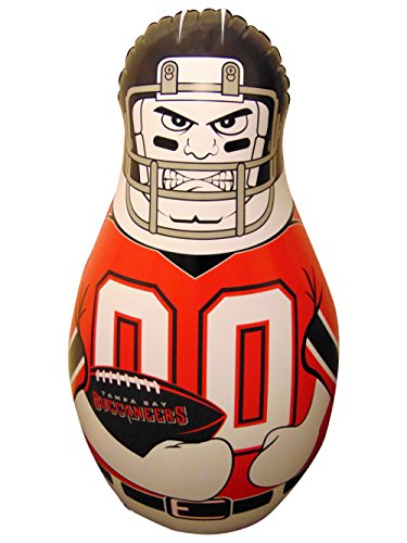 Fremont Die NFL Tampa Bay Buccaneers Unisex NFL Mini Tackle Buddynfl Mini Tackle Buddy, Team Logo/Colors, 12