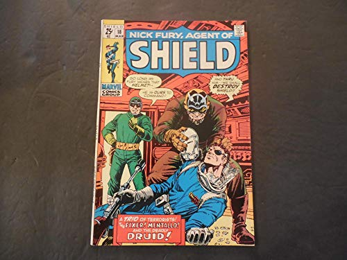 Nick Fury Agent Of SHIELD #18 Mar 1970 Bronze Age Marvel Comics