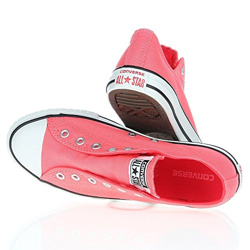 Converse - Chuck Taylor All Star - Color: Blanco-Rosa - Size: 33.0
