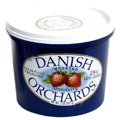 Danish Orchard Spread, Strawberry, 28 oz
