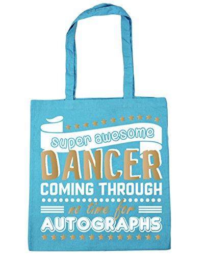 Super Gym x38cm No 42cm 10 litres Surf Dancer Autographs For Blue Awesome HippoWarehouse Shopping Dancing Time Bag Tote Beach Coming Through pwAWd7