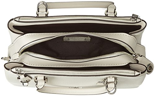 COACH 28 Brooklyn Sv Carryall Pebbled Womens Chalk q8qf1B4