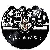 Friends Popular TV Series Vinyl Wall Clock Christmas Gift Review