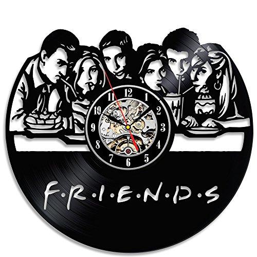 Cheap Friends Popular TV Series Vinyl Wall Clock Christmas Gift
