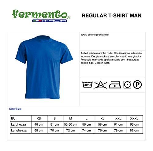 Cotone Fermento Mie Maglietta 100 Uomo shirt Fiero T Italia Jhk Nero Delle Radici x6vqxOgBw