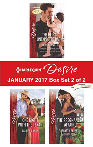 book cover of Harlequin Desire February 2017 - Box Set 2 of 2