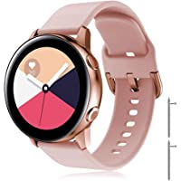 TOPsic Pasek do zegarka Galaxy Watch Active 40 mm, 20 mm, uniwersalny pasek zamienny do Samsung Galaxy Watch Active2…