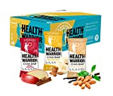 HEALTH WARRIOR Chia Bars, Morning Variety Pack, Gluten Free, 25g bars, 15 Count,Net.wt.13.2 oz
