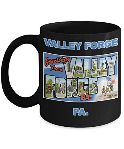 Valley Forge Pennsylvania Postcard Greetings Mug