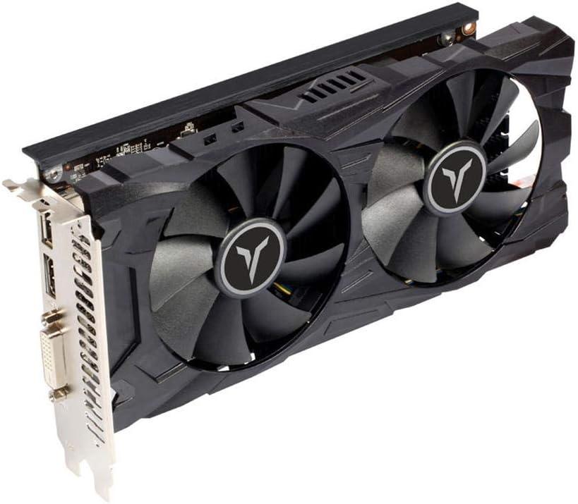 مروحة تبريد مزدوجة Yeston RX560D RX 560 D 4G D5 GAEA ذاكرة تبريد 4GB GDDR5 128bit DP + HD + DVI-D GPU معززة