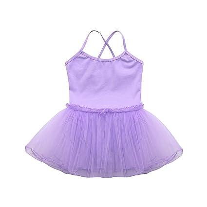 Vestido de niñas, ❤️Xinantime Vestido de ballet para niñas ...