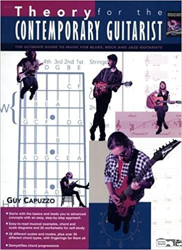Book Theory for the Contemporary Guitarist by Guy Capuzzo (2006)