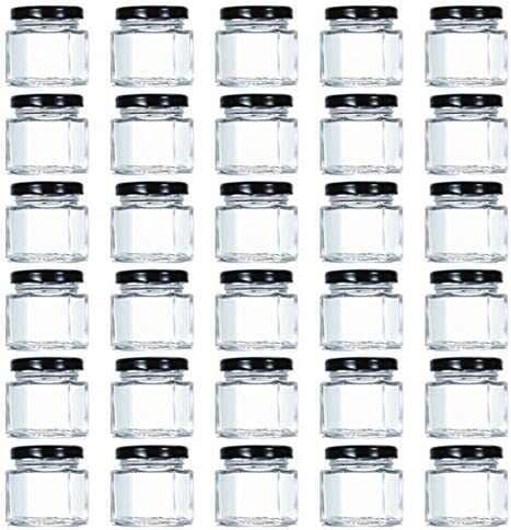 Tebery 1 5oz Hexagon Plastisol Labels product image