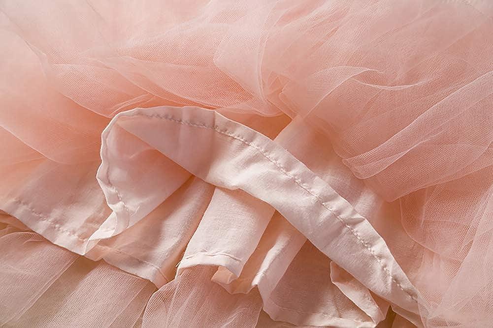 IMEKIS Newborn Toddler Baby Girls Polka Dot Dress Princess Bowknot Tulle Tutu Long Sleeve Winter Party Skirt Wedding Birthday Holiday Fancy Costume Knitted Sweater Top Dress