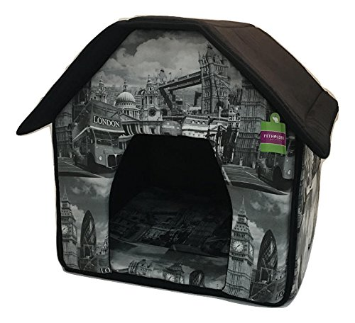 Soft Sponge Portable Pet Cottage House Bed for Dog Cat Warm tent indoor For Sale