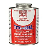 Tite Seal T5516-12PK No. 55 Gasket and Joint Sealing Compound - 16 oz., (Case of 12)