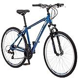 "Schwinn GTX 1 Mens Dual Sport 700c Wheel Bicycle, Blue, 18 ""/Medium"