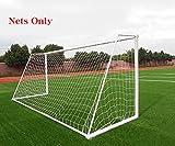 Soccer Goal Net Football Polyethylene Training Post Nets 12 x 6FT (24 x 8FT)