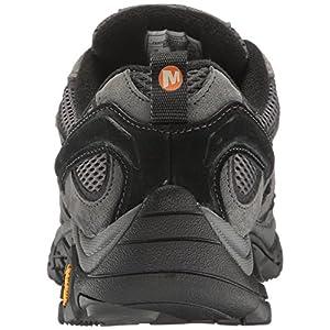 Merrell Men's Moab 2 Waterproof Hiking Shoe, Granite, 10 M US