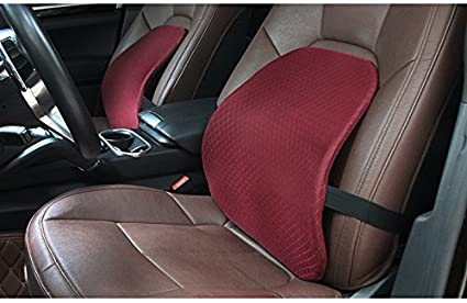 CHOME 1PC Mesh Back Cushion For Car Seat Desk Office Chair UPGRADE VERSION WITH