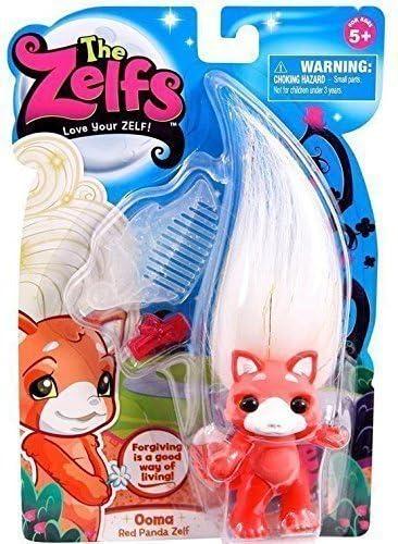 The Zelfs OOMA Red Panda Zelf  Series 4 Medium Doll
