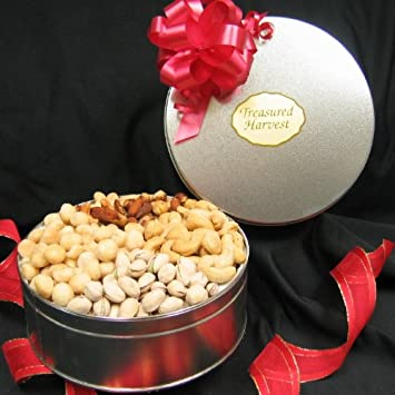 Nut Lovers - Gourmet Nuts Gift Tin