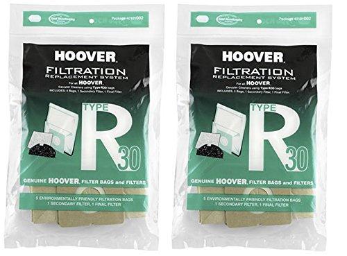 Hoover Type R30 Bag & Filter Set, 40101002 (10 Bags & 4 F...