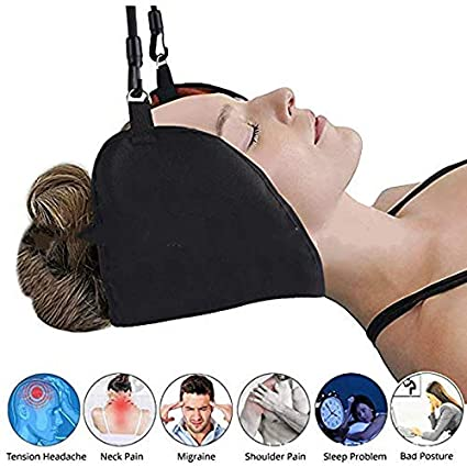 Beauty & Health Cervical Massager Traction Neck Hammock Bone Massage Muscle Relaxation Cervical Acupuncture Points Pillow Health Care