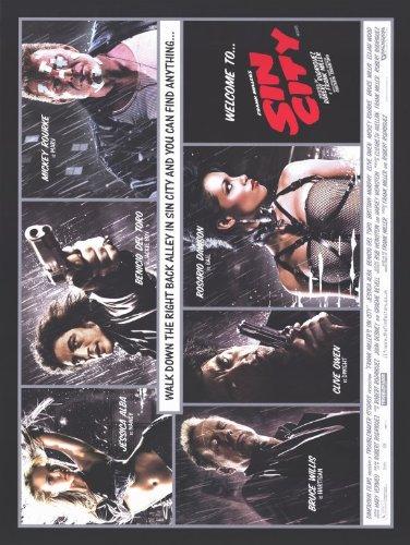 11 x 17 Sin City Movie Poster
