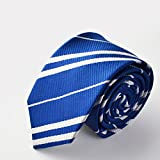 Kiwi Power School Tie Cosplay Party Costume Accessory For Halloween Party (Blue)
